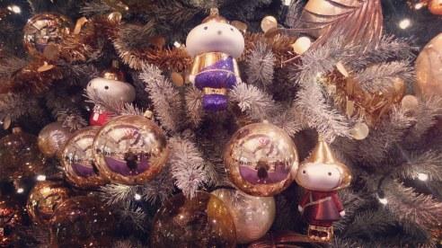 קישוטי חג המולד. ברלין