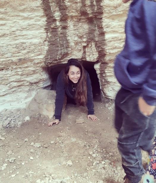 זוחלת במערת חורבת מדרס