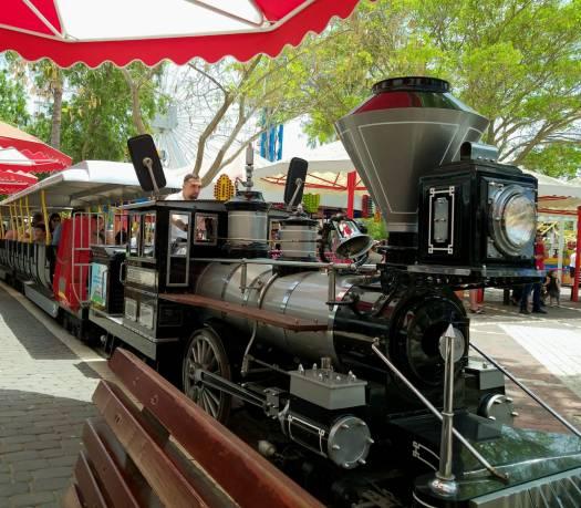 רכבת הפארק. לונה פארק תל אביב