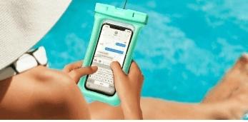 כיסוי לפלאפון נגד מים