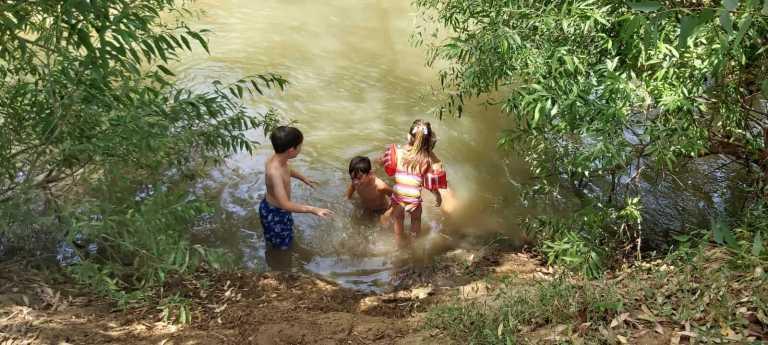 קמפינג בגולן- נהר הירדן