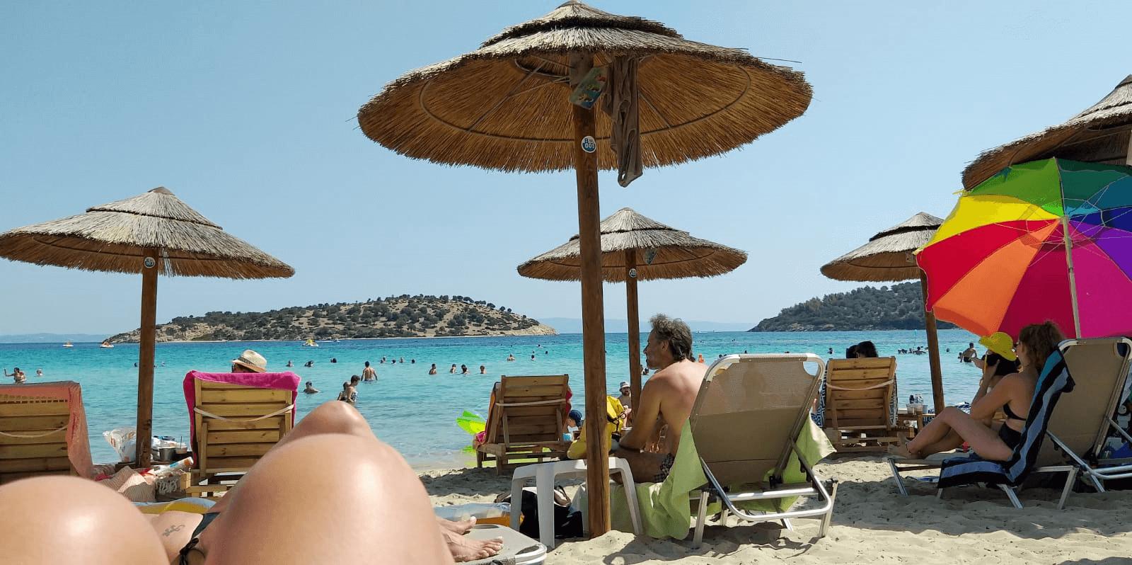 חוף Lagonisi, סיטוניה, יוון