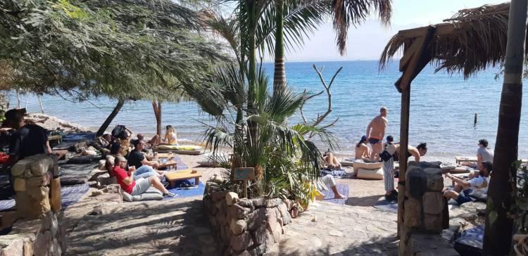 החוף של מוש. אילת