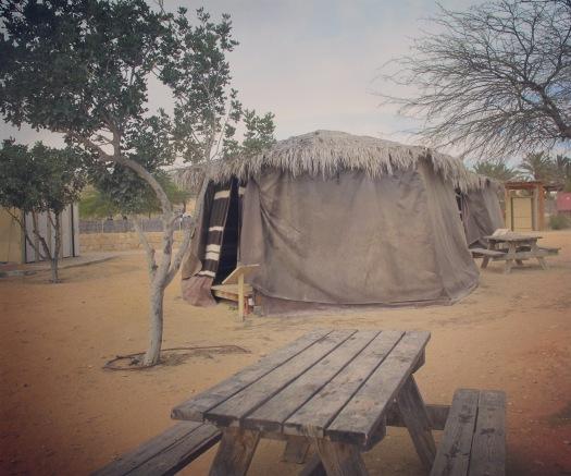 אוהל טוקול אתיופי, גן לאומי ממשית. ליד עין ירקעם